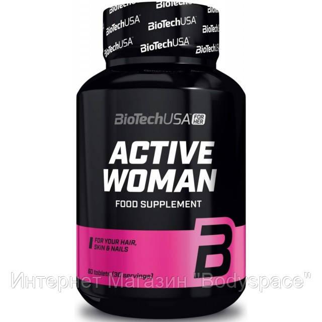 Biotech USA, Витамины Active Woman, 60 таблеток