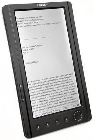 Б/У Prology Latitude T-703 качественный TFT-ридер. Дефект на матрице экрана без зарядки, фото 2