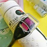 Акционный набор: Мезороллер MT 540 игл в тубусе + Гиалуроновая кислота Baimiss  + Тканевая маска для лица (в, фото 4