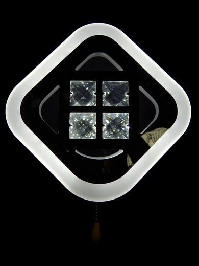 Светодиодный светильник накладной настенный с выключателем 10 W Линия солнца&6009/1 CH