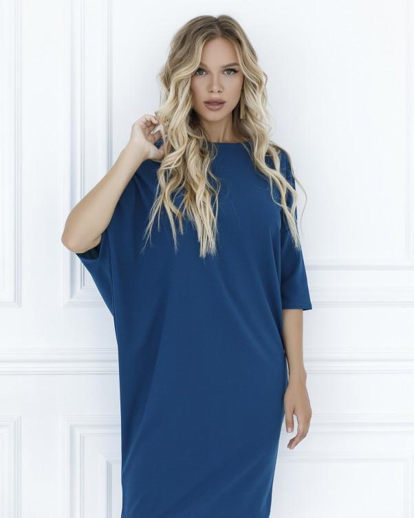 Платья ISSA PLUS 12106  M бирюзовый S, 79% полиэстер 21% эластан, Новое, бирюзовый