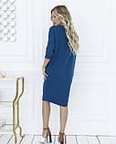 Платья ISSA PLUS 12106  M бирюзовый S, 79% полиэстер 21% эластан, Новое, бирюзовый, фото 3