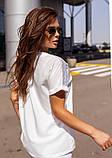 Блузы  12114  S белый, фото 3
