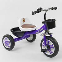 """Велосипед 3-х колёсный LM-1355 """"Best Trike"""" ФИОЛЕТОВЫЙ"""