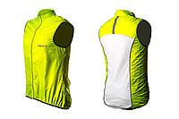 Светоотражающий жилет ONRIDE - Gust reflective Neon желтый XS