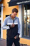 Мужской спортивный костюм двойка кофта на молнии+штаны двухнить размеры:48,50,52,54, фото 4