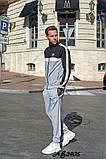 Мужской спортивный костюм двойка кофта на молнии+штаны двухнить размеры:48,50,52,54, фото 2