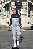Мужской спортивный костюм двойка кофта на молнии+штаны двухнить размеры:48,50,52,54, фото 8
