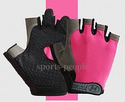 Перчатки для фитнеса, велосипеда, тяжелой атлетики, Huwai, размер S, разн. цвета.