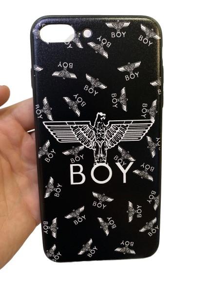 Чохол-накладка з малюнком Art-case BOY для Apple iPhone 7 Plus\8 Plus Чорний