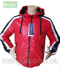 Демисезонная спортивная молодежная куртка со съемным капюшоном Польша
