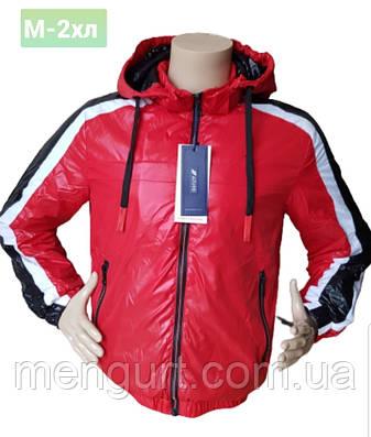 Демисезонная спортивная молодежная куртка со съемным капюшоном Польша, фото 2