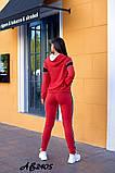 Cпортивный костюм тройка кофта на молнии+футболка+штаны коттон+двухнить размер:48,50,52,54,56, фото 7