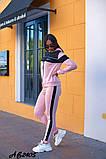 Cпортивный костюм тройка кофта на молнии+футболка+штаны коттон+двухнить размер:48,50,52,54,56, фото 5
