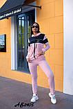 Cпортивный костюм тройка кофта на молнии+футболка+штаны коттон+двухнить размер:48,50,52,54,56, фото 2