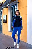 Cпортивный костюм тройка кофта на молнии+футболка+штаны коттон+двухнить размер:48,50,52,54,56, фото 9