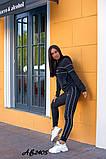 Cпортивный костюм тройка кофта на молнии+футболка+штаны коттон+двухнить размер:48,50,52,54,56, фото 6