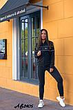 Cпортивный костюм тройка кофта на молнии+футболка+штаны коттон+двухнить размер:48,50,52,54,56, фото 4