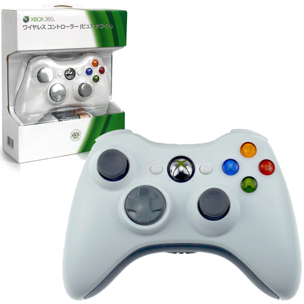 Беспроводной геймпад джойстик XBOX360, PS3, PC, Android игровой контроллер Белый