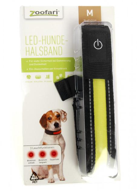 Светодиодный ошейник для собак Zoofari
