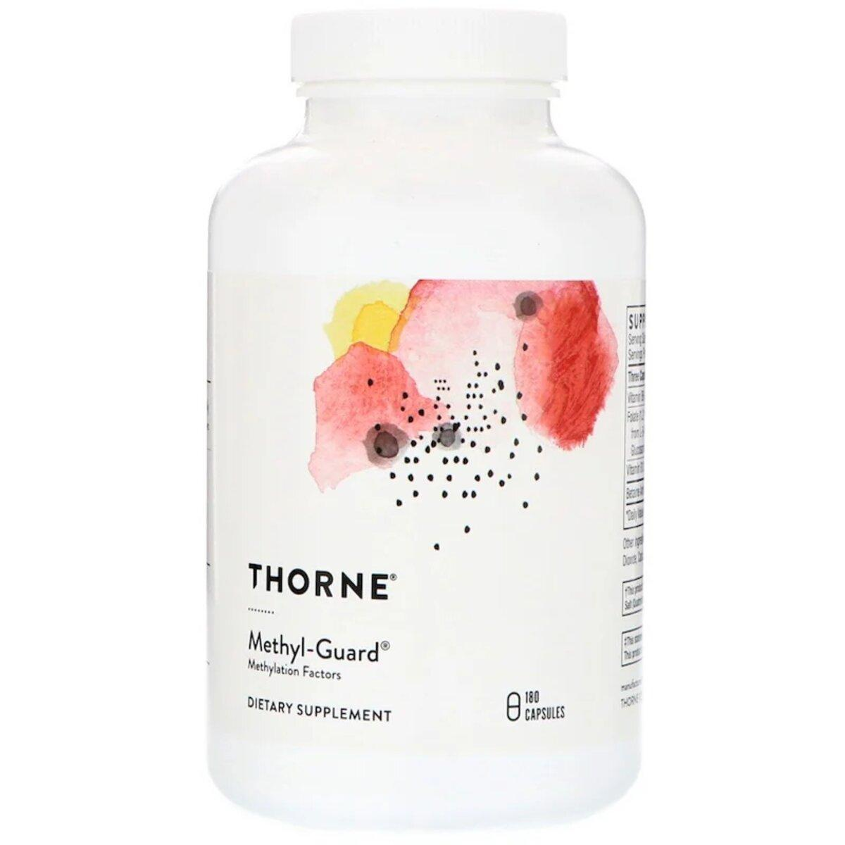 Метил-Гард, Витамины Для Мозга, Methyl-Guard, Thorne Research, 180 Капсул