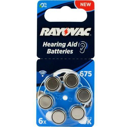 Батарейки для слуховых аппаратов RAYOVAC 675 PR44