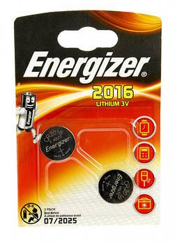 Батарейки Energizer CR2016