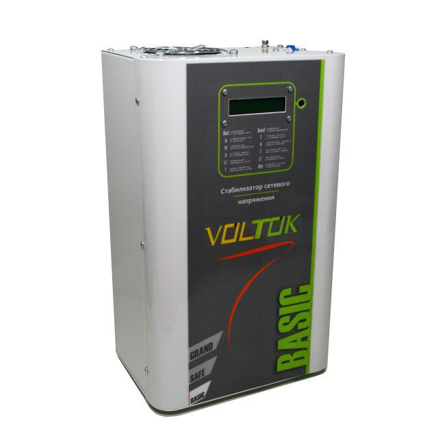 Стабилизатор напряжения Voltok Basiс plus Profi SRKw9-22000 для дома, дачи, квартиры, промышленности