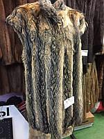 Койот жилет из койота натуральный мех койота 52 размер в кредит
