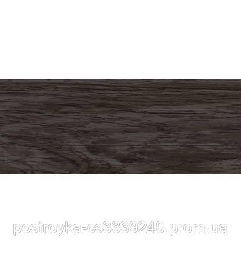 Плінтус підлоговий пластиковий LinePlast L037 Трюфель c центральним кабель-каналом