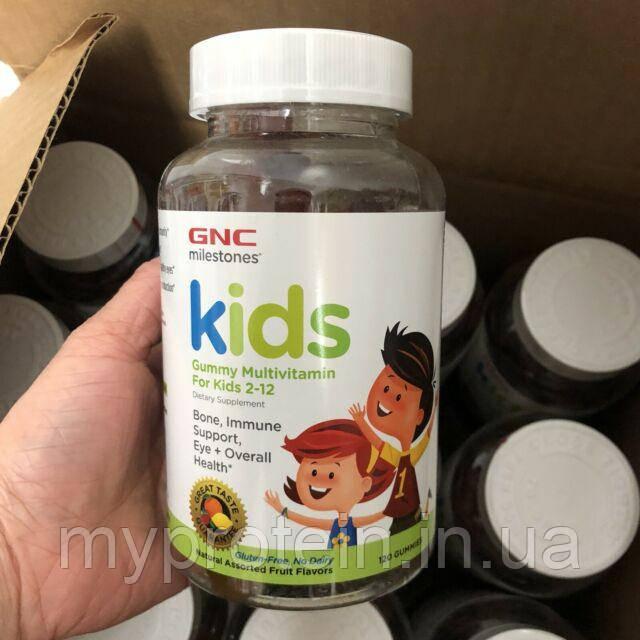 GNCВитамины для детейKids Gummy Multivitamin for Kids 2-12120 gummies