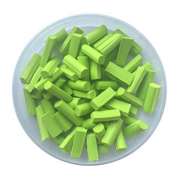 Foam chunks салатовые (60 шт.)