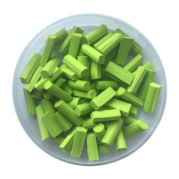 Foam chunks салатовые (100 шт.)
