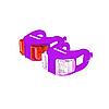 Набір мигалок Onride Dual Фіолетовий