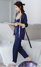 Женская пижама тройка Размер M(46), фото 3