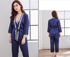 Женская пижама тройка Размер M(46), фото 2