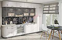 Кухня Хай тек з плівковими мдф фасадами, фото 1