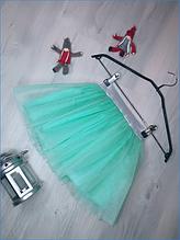 Фатиновая юбка на девочку ментол
