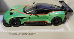 Детская машинка Aston Martin Vulcan метал 1:36 зелёный, фото 2