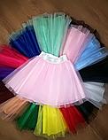 Фатиновая юбка на девочку черный, фото 3