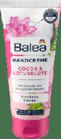 Balea Handcreme Cocos & Lotusblüte Крем для сухої шкіри рук кокос і квітка лотоса 100ml