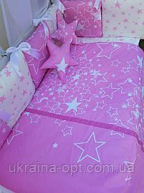 Набор постельного белья в детскую кроватку Elit Bonna