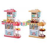 Детская кухня 72см-51,5см-23,5см световые и звуковые эффекты материал пластик Limo Toy 889-151-152, фото 2