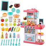 Детская кухня 72см-51,5см-23,5см световые и звуковые эффекты материал пластик Limo Toy 889-151-152, фото 4