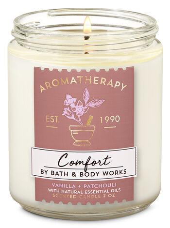 Ароматизированная свеча Vanilla + Patchouli Bath & Body Works