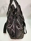Новый стиль Женские сумка дутики стеганная на плечо/Дутая Сумка женская спортивная только оптом, фото 5