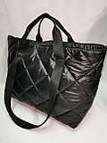 Новый стиль Женские сумка дутики стеганная на плечо/Дутая Сумка женская спортивная только оптом, фото 6