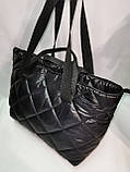 Новый стиль Женские сумка дутики стеганная на плечо/Дутая Сумка женская спортивная только оптом, фото 7