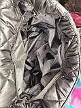 Новый стиль Женские сумка дутики стеганная на плечо/Дутая Сумка женская спортивная только оптом, фото 10