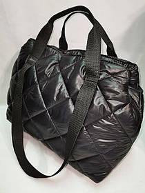 Новый стиль Женские сумка дутики стеганная на плечо/Дутая Сумка женская спортивная только оптом